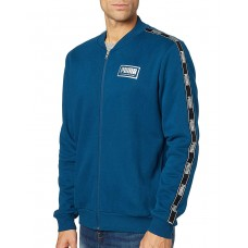 PUMA Holiday Pack Full Zip Bomber Jacket Blue