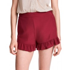 H i M Frill-Trimmed Shorts