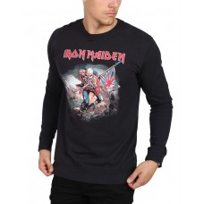 ONLY i SONS Iron Maiden Crew Neck Sweat Black